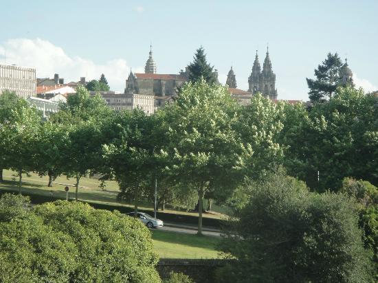 NH Collection Santiago de Compostela : preciosa vista desde la habitación