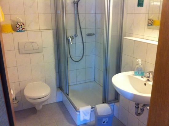 Hotel Garni Schaider: bagno
