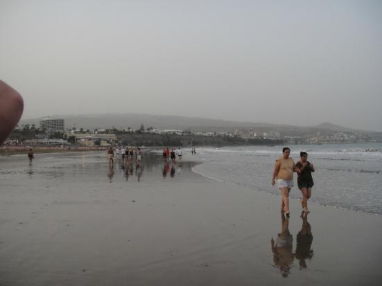 Tabaibas: Weitläufiger Sandstrand 