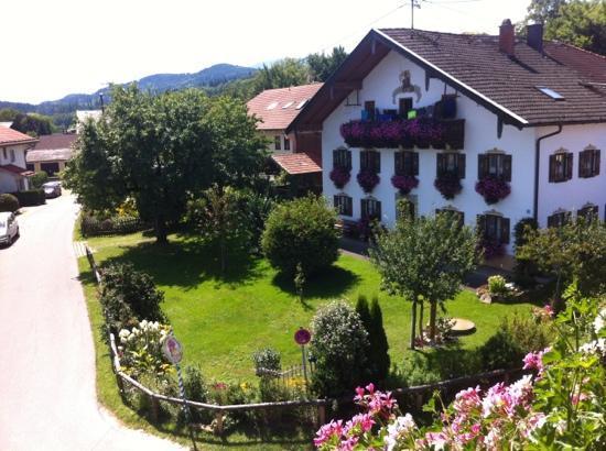 Hotel Garni Schaider: vista dalla veranda