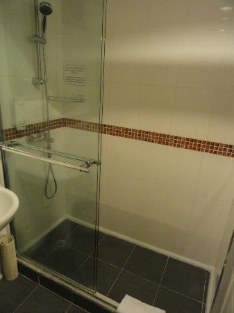 The Imperial Hotel: Shower room