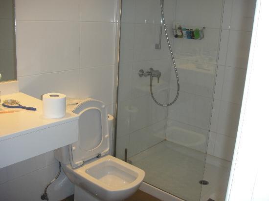 Tabaibas: Dusche und WC