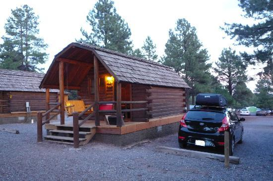 Williams / Circle Pines KOA Campground : Kamping Kabin K4