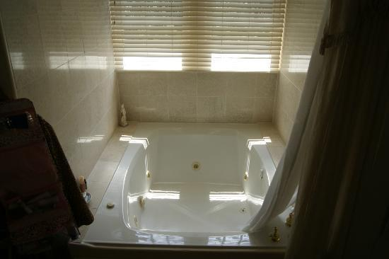 At Cumberland Falls Bed and Breakfast Inn: Fantastic jacuzzi tub!