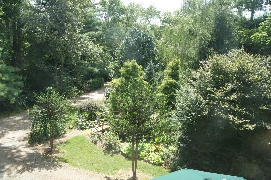 At Cumberland Falls Bed and Breakfast Inn: View from Bathroom window