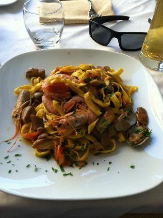 "Ripa145 B&B: ""Fantastic restaurant in Trastevere, 1 block from the B&B"""