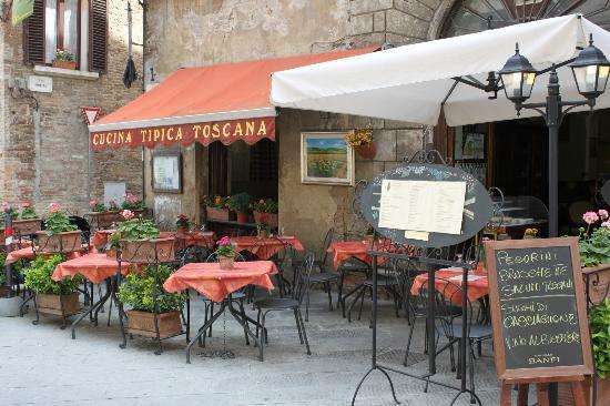 Trattoria Il Marzocco: Cucina tipica toscana