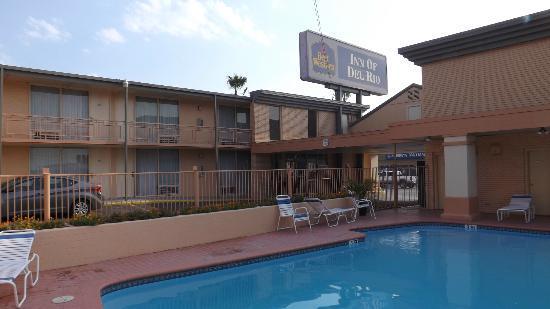Best Western Inn Of Del Rio : Die Hotelanlage