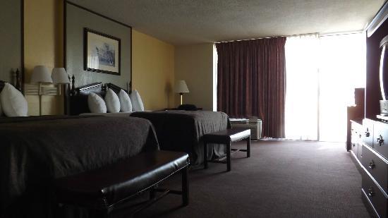 Best Western Inn Of Del Rio : Unser Zimmer von der anderen Seite