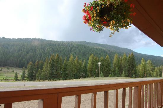 Corral Motel: the positive part of our stay- the view!