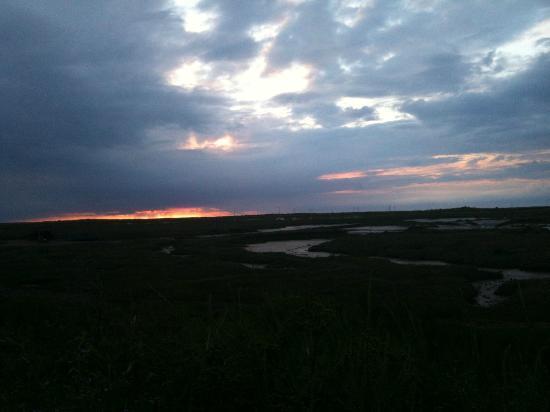 Sunset at White Horse Brancaster Staithe