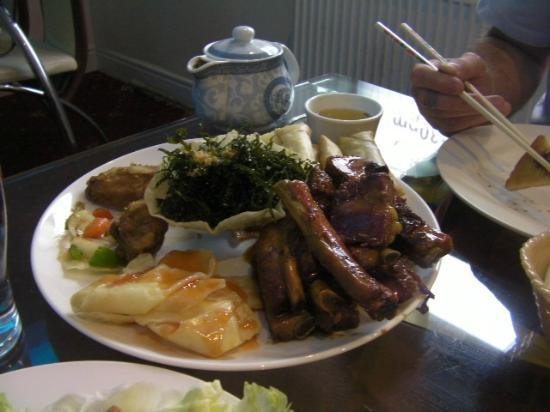SHANGHAI: ribs, wings, wontons, seaweed, prawn toast