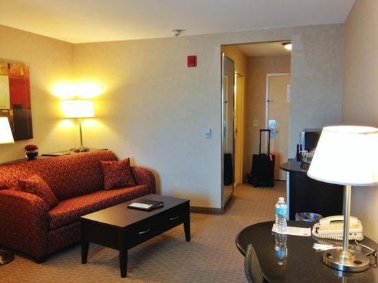 Comfort Suites Bentonville: sitting area