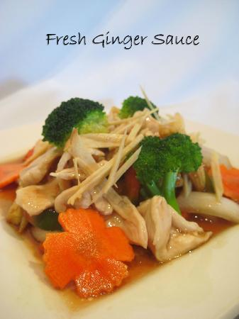 Thai Spice: Fresh Ginger Sauce
