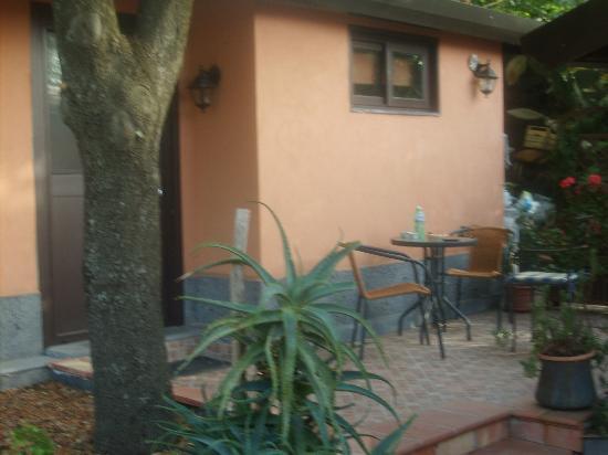 سوتو إيلفولكانو: una delle camere da noi occupate 