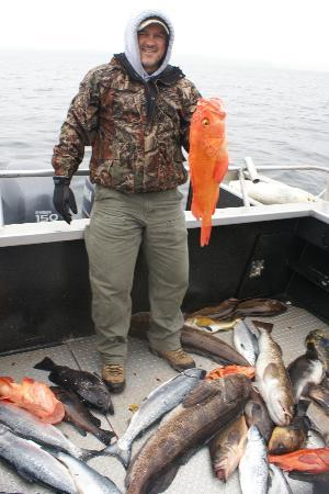 Bob's Cabin & Guide Service : Yellow Eye Rockfish