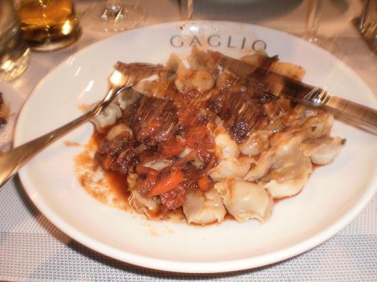 Gaglio: beef ragu