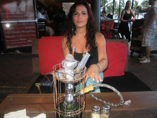 The Gallery at Beach Place : Hookah at Sangria's
