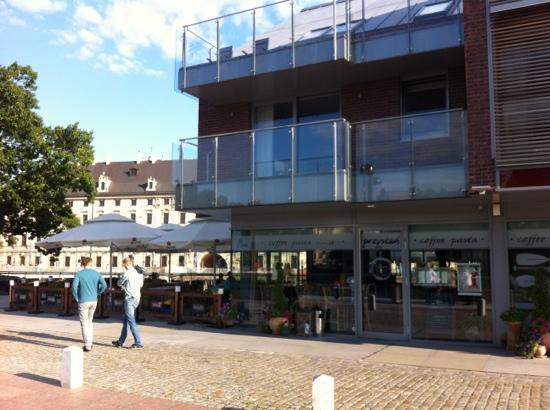 Restauracja Przystan: entrada del restaurante