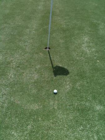PGA Golf Club in PGA Village - Ryder Course: putting for a birdie , and yes I made it