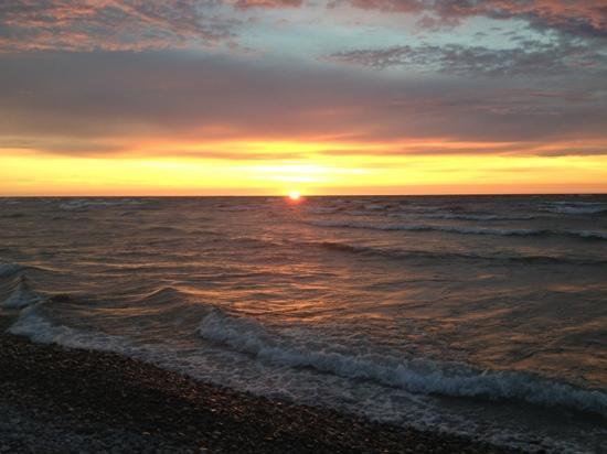 Fisherman's Island State Park: Fishermans island state park sunset