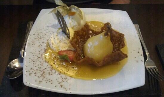 Urquhart's Restaurant: Pear butterscotch