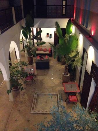 Riad Badi: vu du balcon