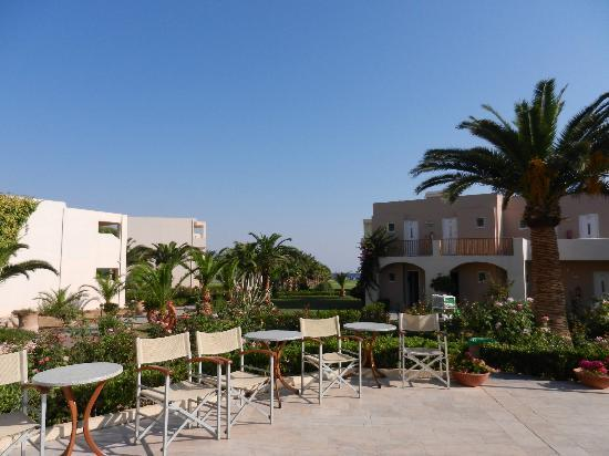 Hotel Delfina Beach: bloc chambre