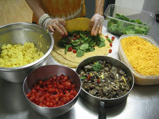 Jongo Java: Our WRAPS are made from scratch in our kitchen