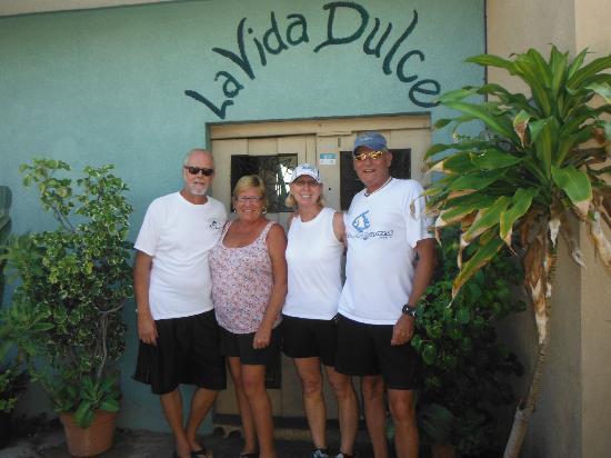 La Vida Dulce Casitas: Steve & Jeri Mattox with John & Jeanne McPherson