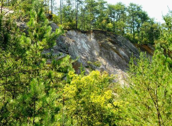 Occoneechee Mountain State Natural Area: Occoneechee Quarry
