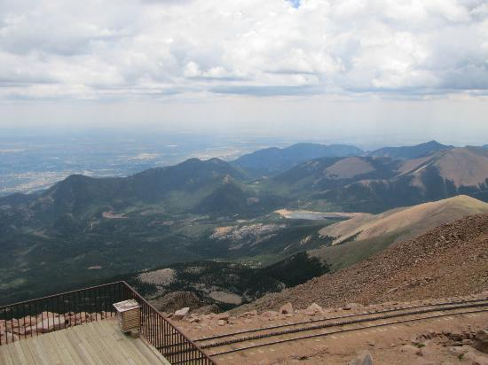 Manitou Springs, Κολοράντο: View from the top of Pike's Peak