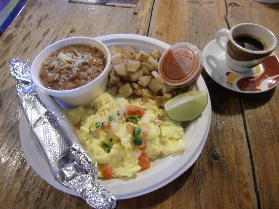 Java Ranch Espresso Bar & Cafe: Huevos Rancheros & Expresso