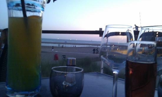 Best Western Hotel De La Plage: vue de la terrasse du restaurant