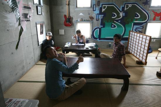 Backpackers Miyajima: Hello staff! Keep up the great work!