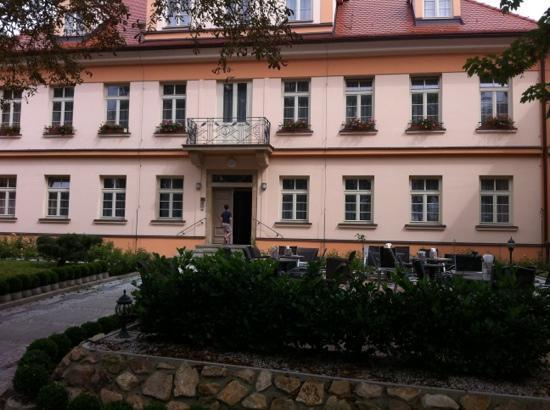 Castle Residence Praha: Terrace on the right
