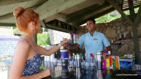 """Merit Crystal Cove: One of the many """"all inclusive"""" bars"""