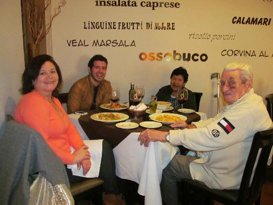 Rigoletto Lima: Almorzando delicioso!!!