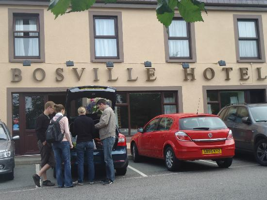 Dulse & Brose at The Bosville: Out side the Bosville Hotel