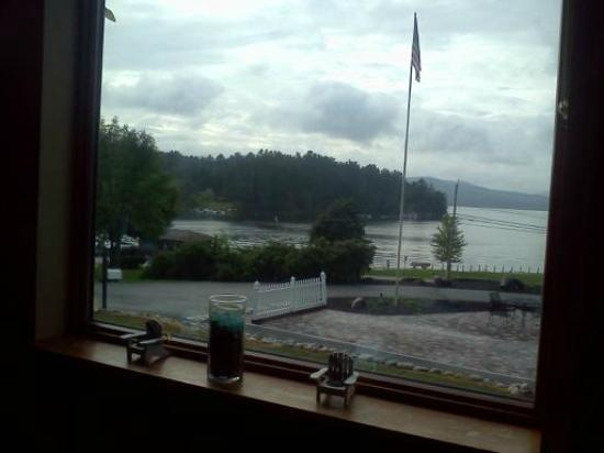 Dunham's Bay Resort: a view from our seats in the dining room