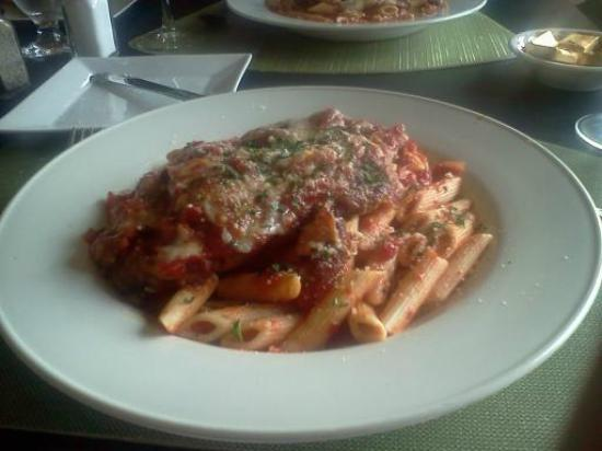 Dunham's Bay Resort: my chicken parm