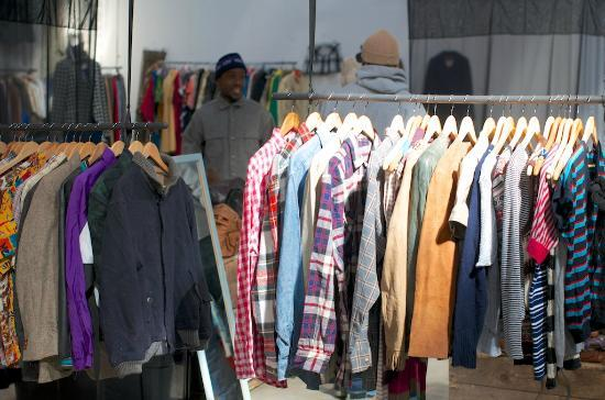 11a86cbd1af7 One of the clothing stores - Picture of Market on Main, Johannesburg ...