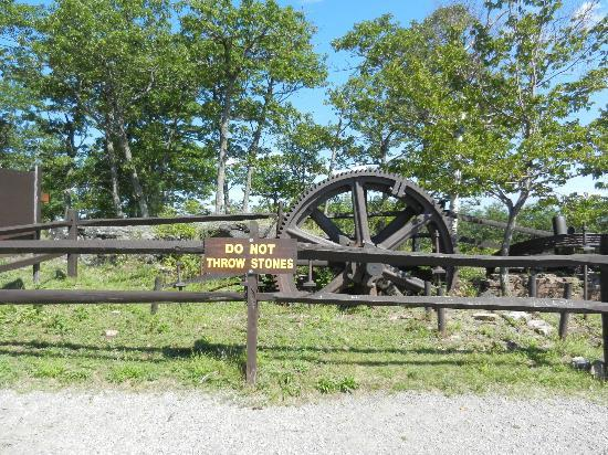 the wheel used for the old cog picture of prospect mountain lake rh tripadvisor com