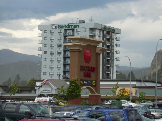 Sandman Hotel & Suites Kelowna: Das Sandman