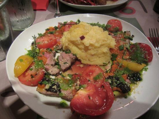 Le Bouchon Bordelais : Baby lamb meat