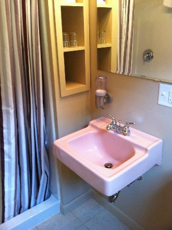Briarcliff Motel: Bathroom in room 17