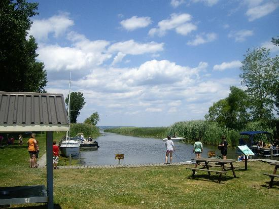 Long Point Provincial Campground: Park Marina