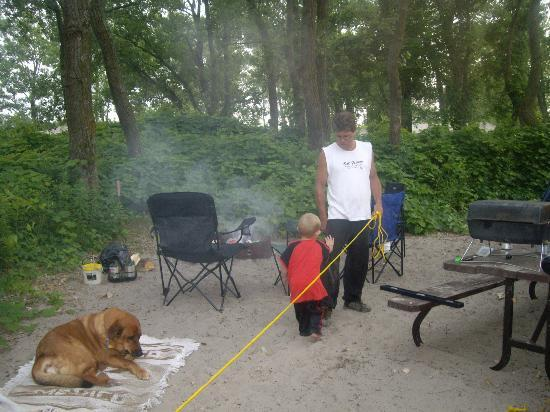 Long Point Provincial Campground: Monarch