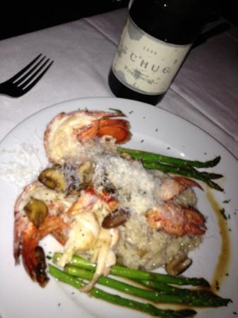 Red Sky: lobster risotto...OMG!!