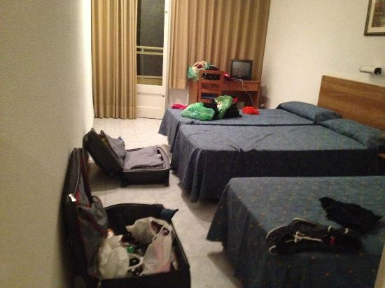 Hotel Planas : комната